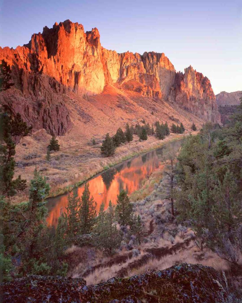 Crooked river and smith rock.